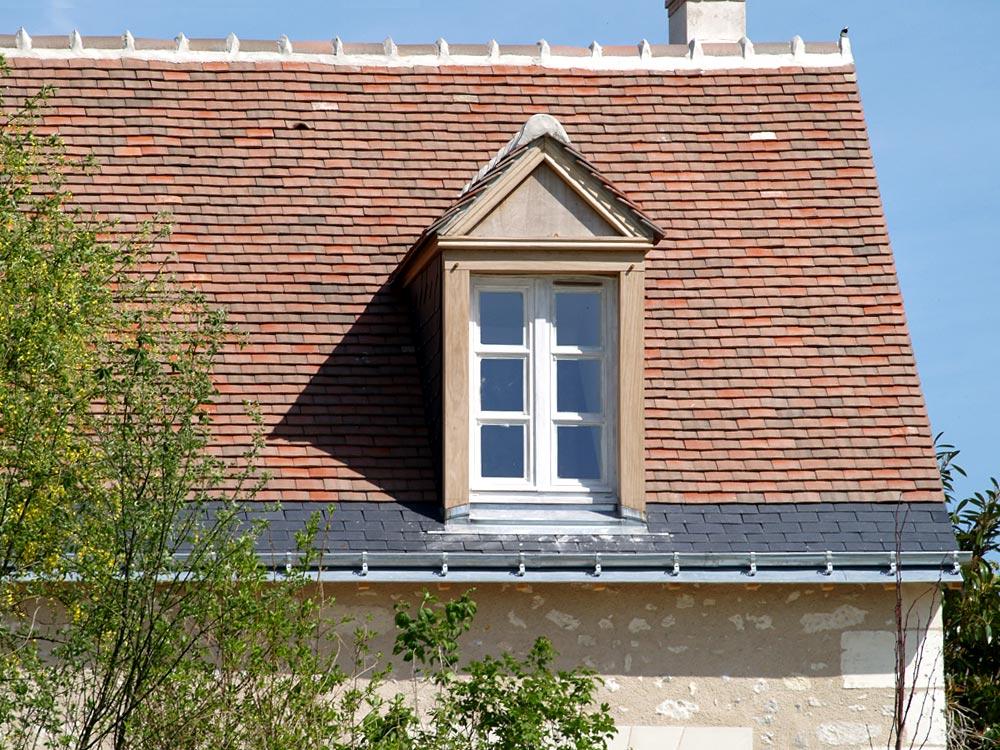 Tuilerie de bridor tuiles plates en terre cuite pour for Tuiles pour toiture maison